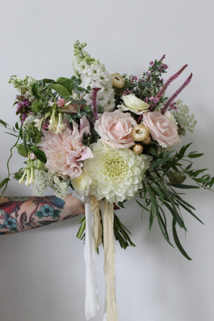 kate's wedding bouquet Floral Stylist Auckland