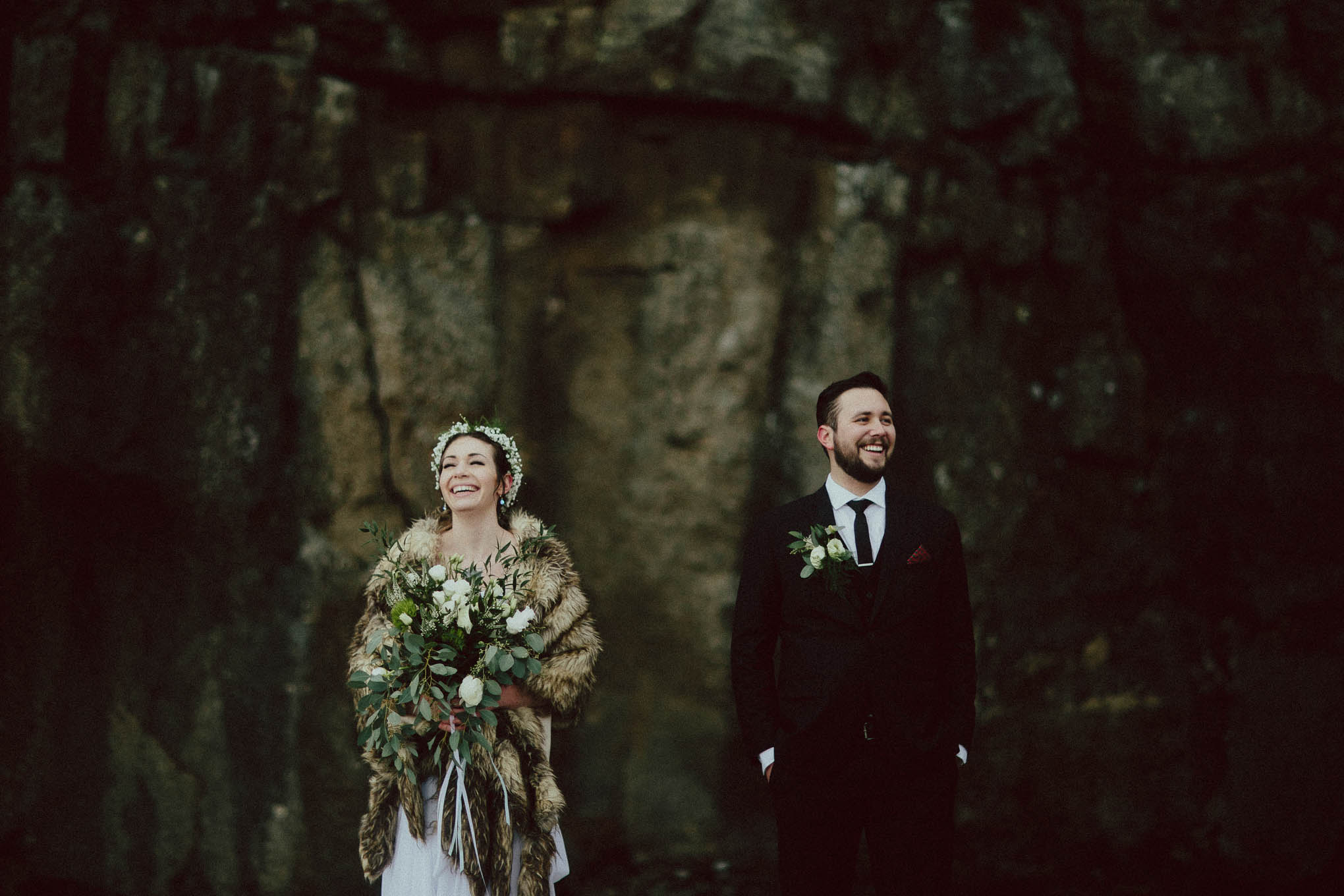 Categories: Weddings-Real Wedding: Katy & James - Photography by Ryan & Heidi Brown of Forged in the North
