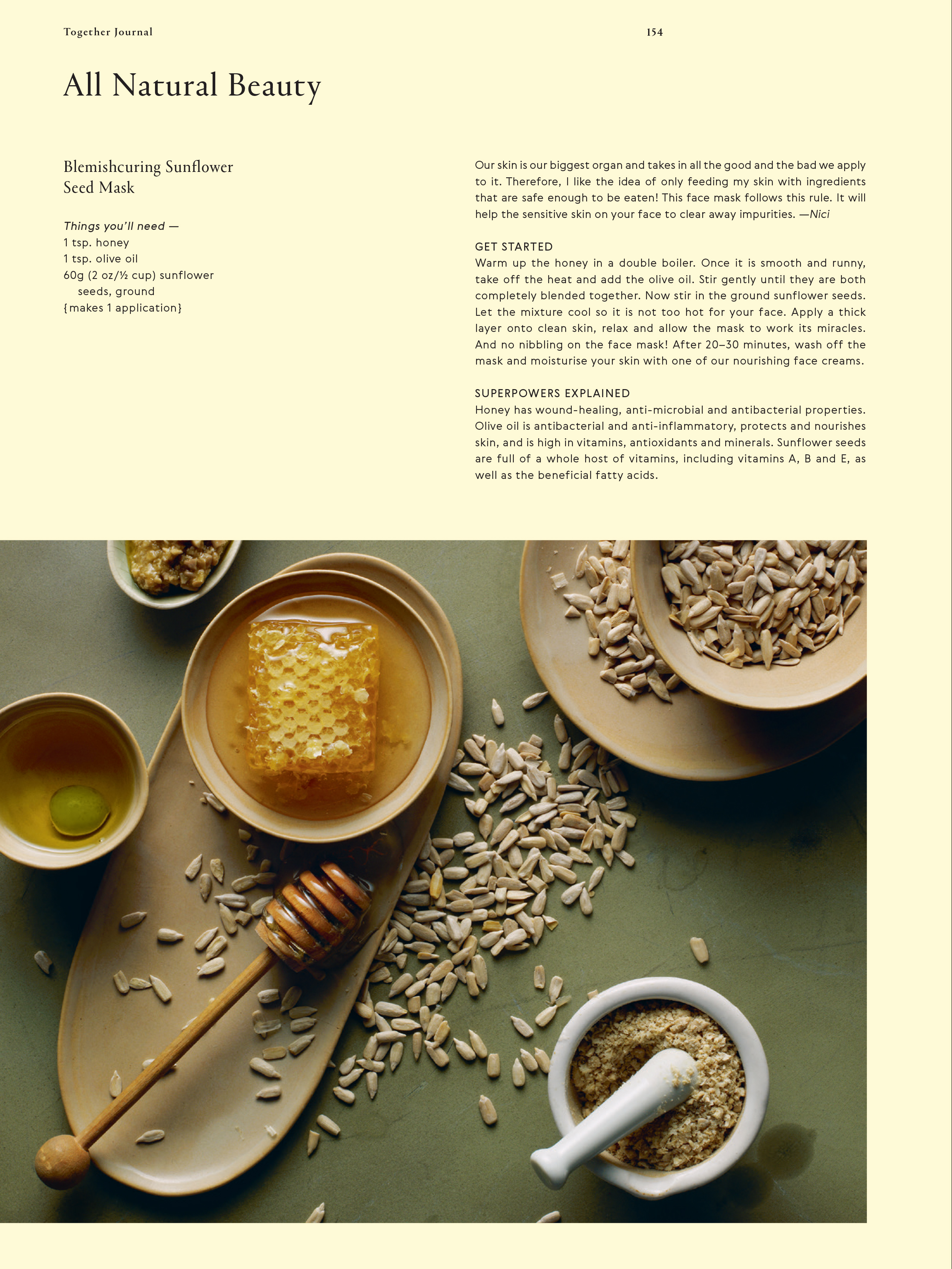 Categories: Food + Drink-All Natural Beauty - Issue 5