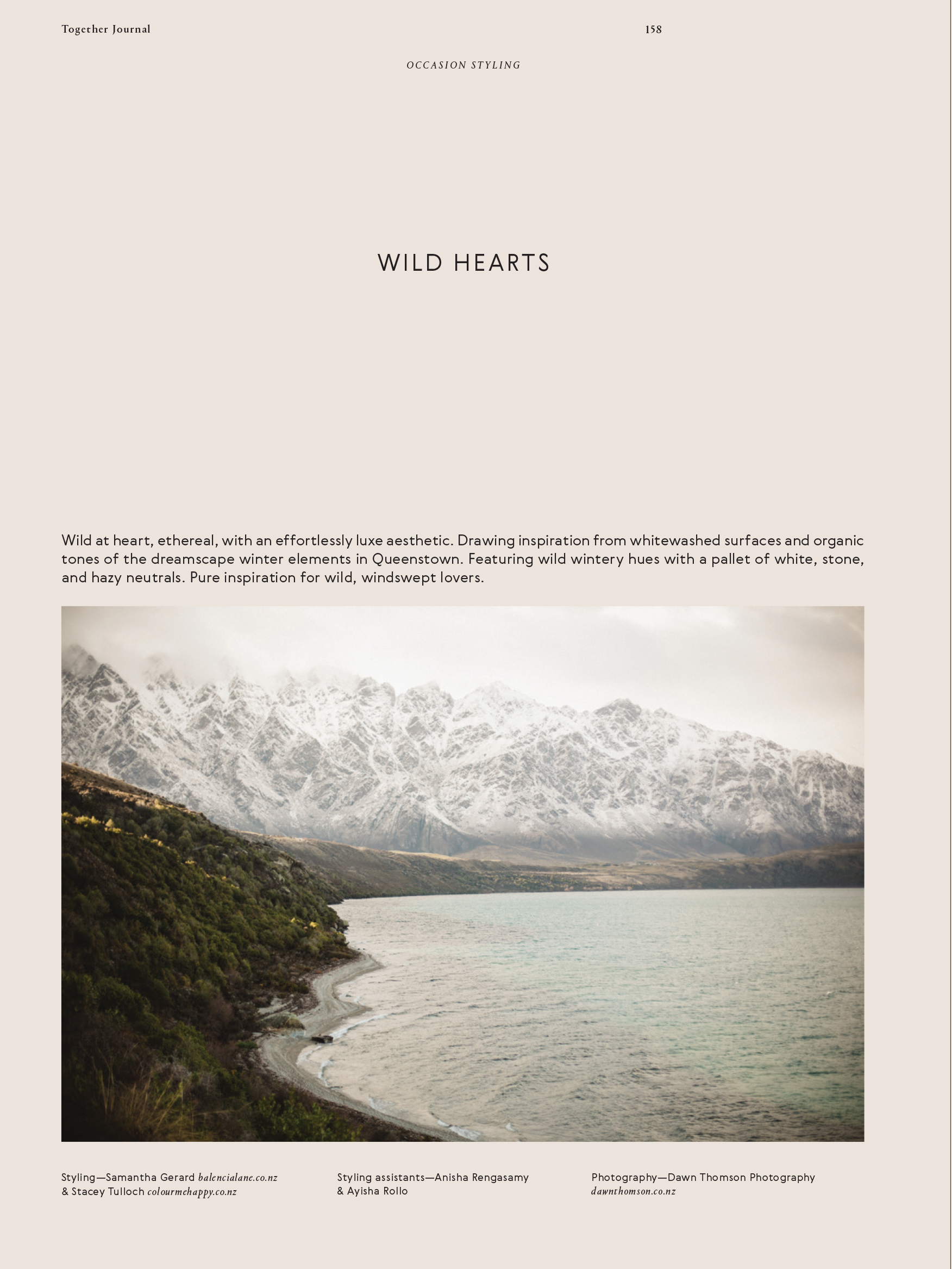 Categories: Inspiration, Weddings-Wild Hearts Occasion Styling Issue 5