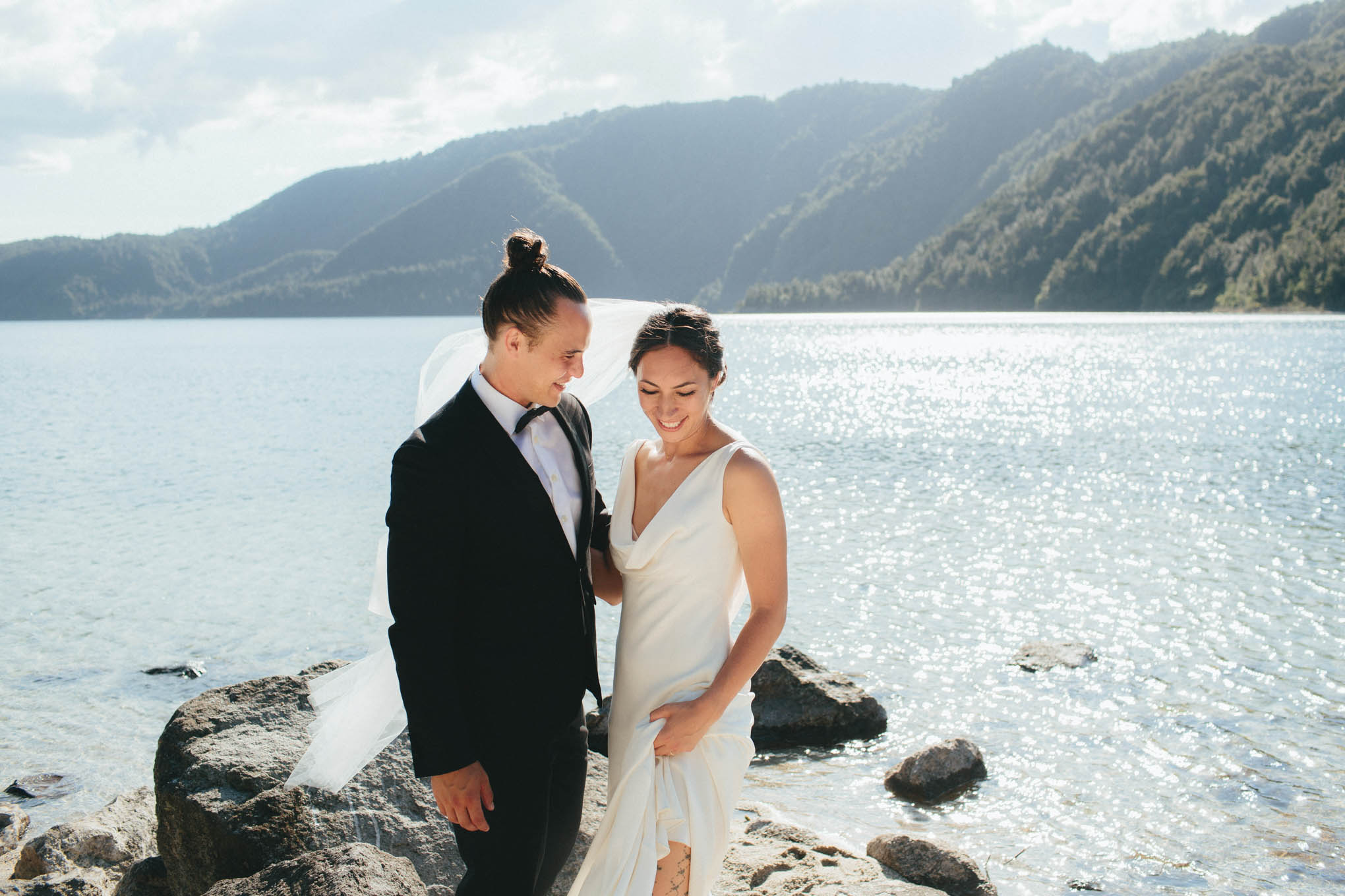 Categories: Weddings-Real Wedding: Bailey & Te Miri - Photography by Tim Kelly and Nadine Ellen