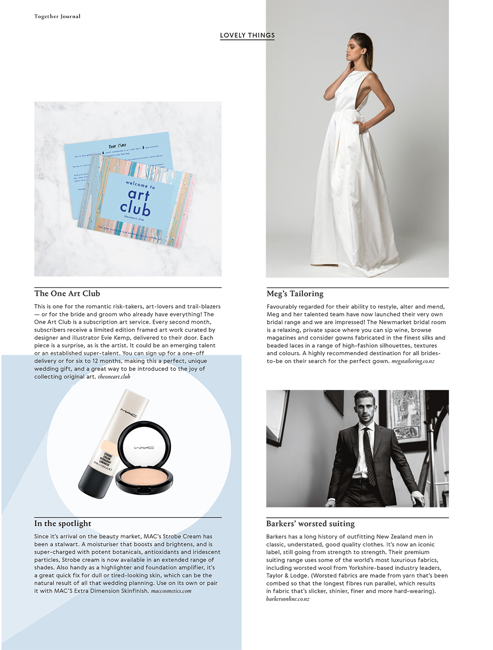 Categories: Weddings-Lovely Things - Issue 6