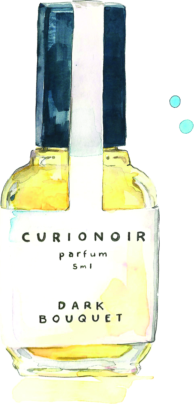 Categories: Beauty-Fragrance of the week - Curio Noir Dark Bouquet at Curio Noir