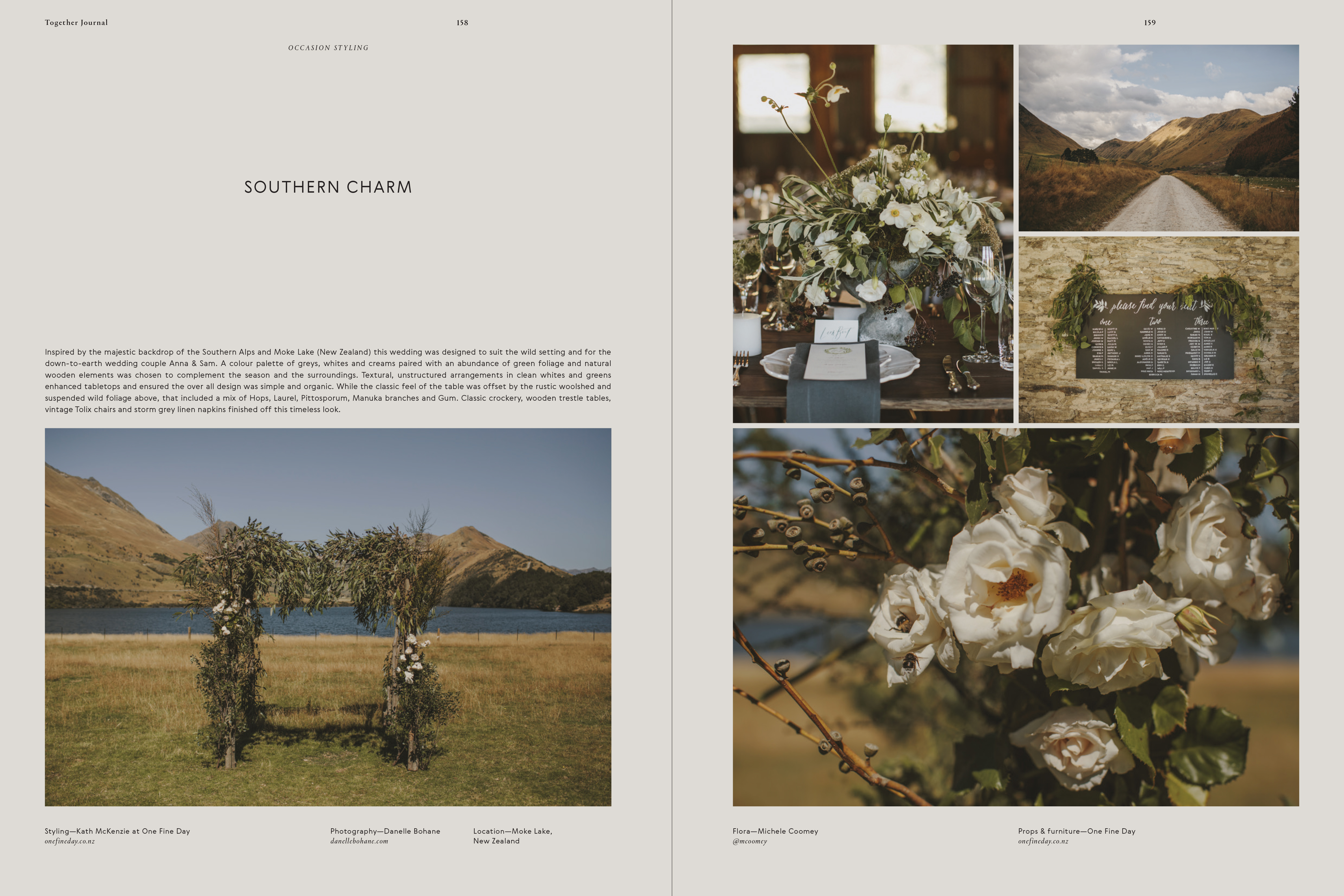 Categories: Flora + Styling, Weddings-Southern Charm - Issue 6