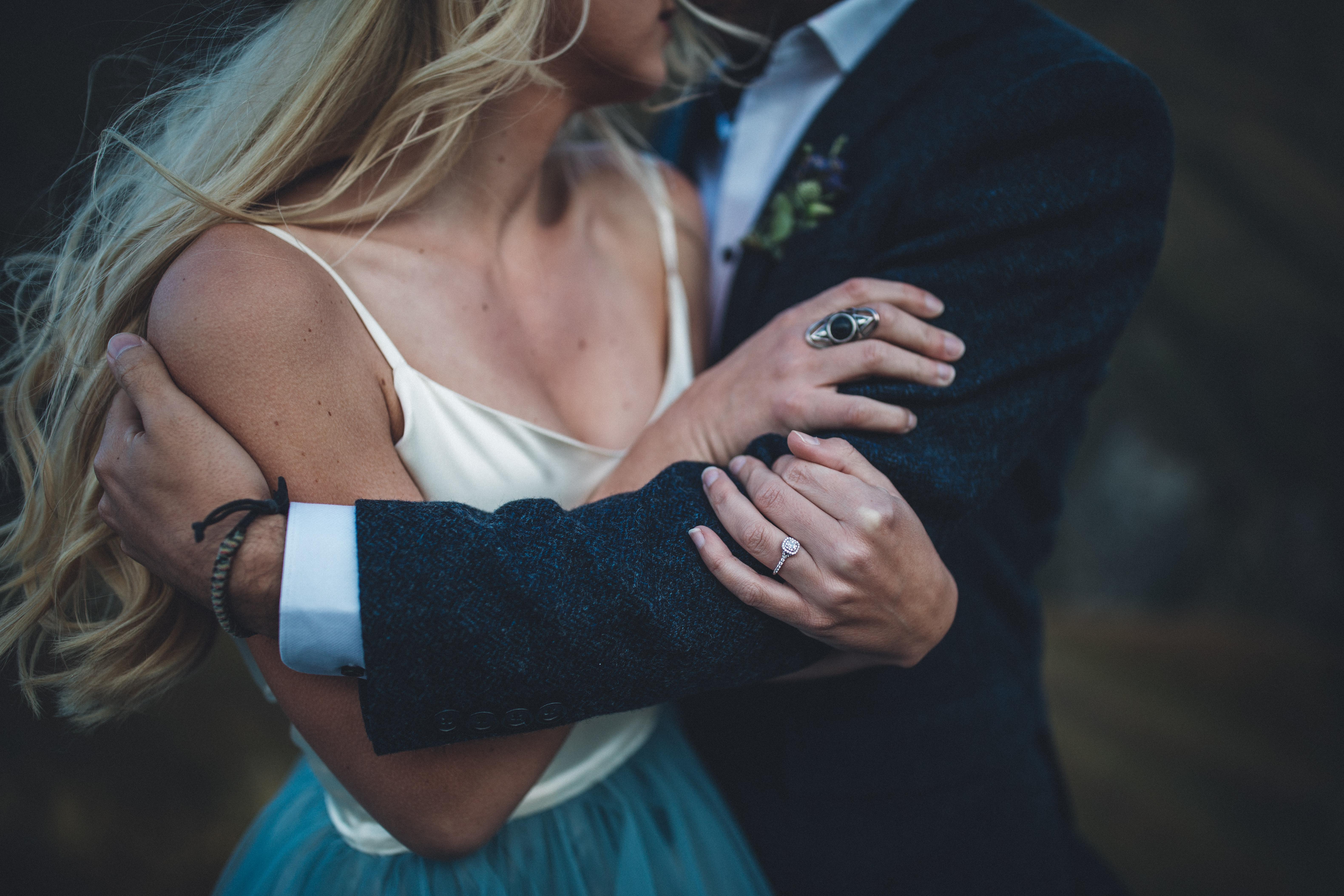 Categories: Weddings-Real Wedding: Carly + Elliot - Photography by Jim Pollard
