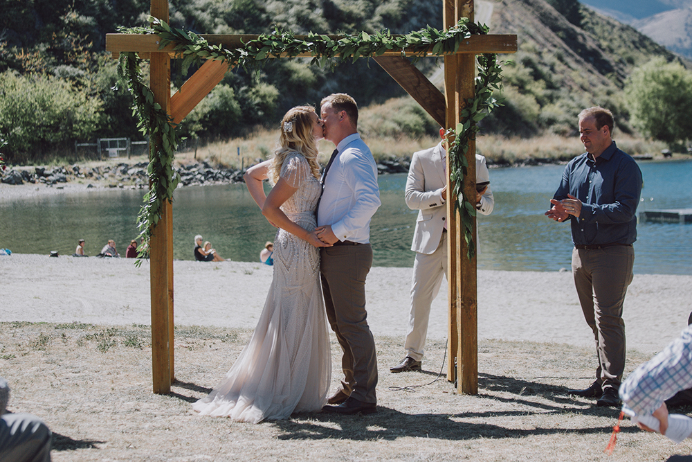 Categories: Weddings-Real Wedding: Jamie & Jared - Photography by Holly Wallace