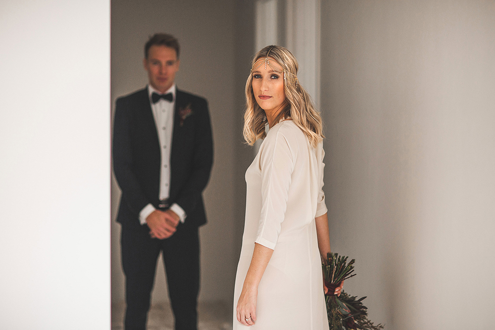 Categories: Weddings-Real Wedding: Nicole & Jethro - Photography by Haley Guildford