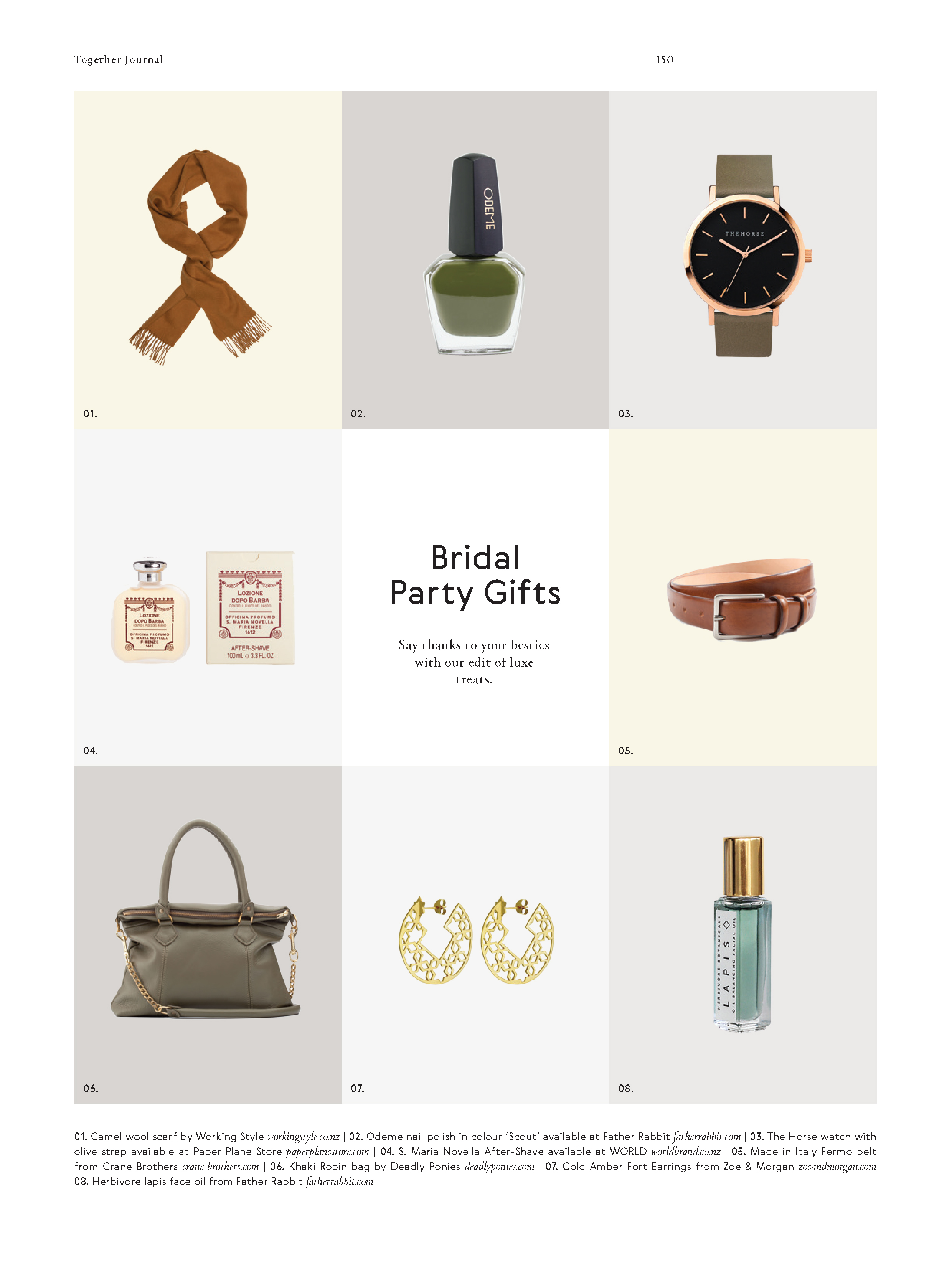 Categories: Inspiration-Bridal Party Gifts
