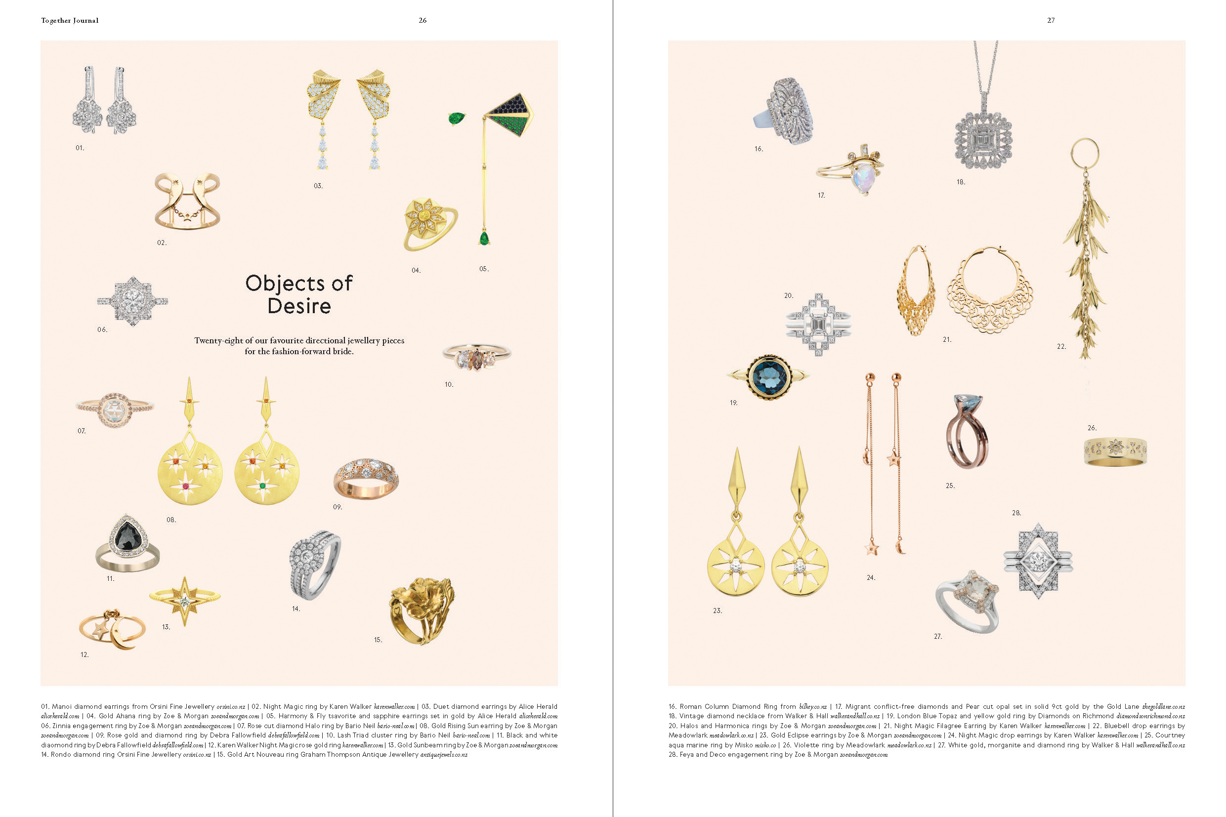 Categories: Fashion-Objects of Desire - Issue 9