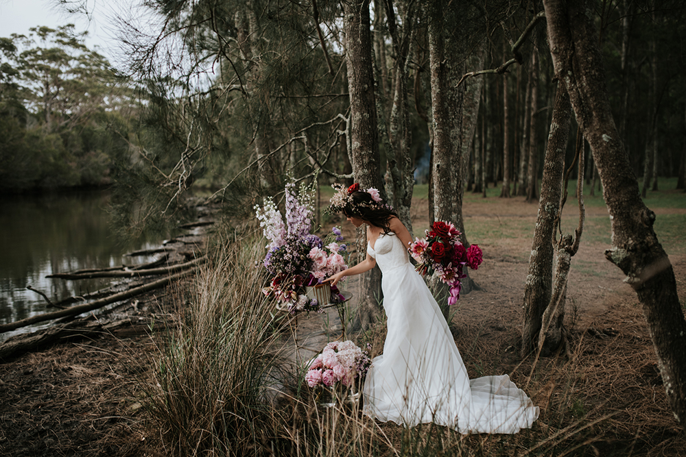 Categories: Inspiration-Botanical Wedded Bliss Part One - Photography by Damien Milan Photography