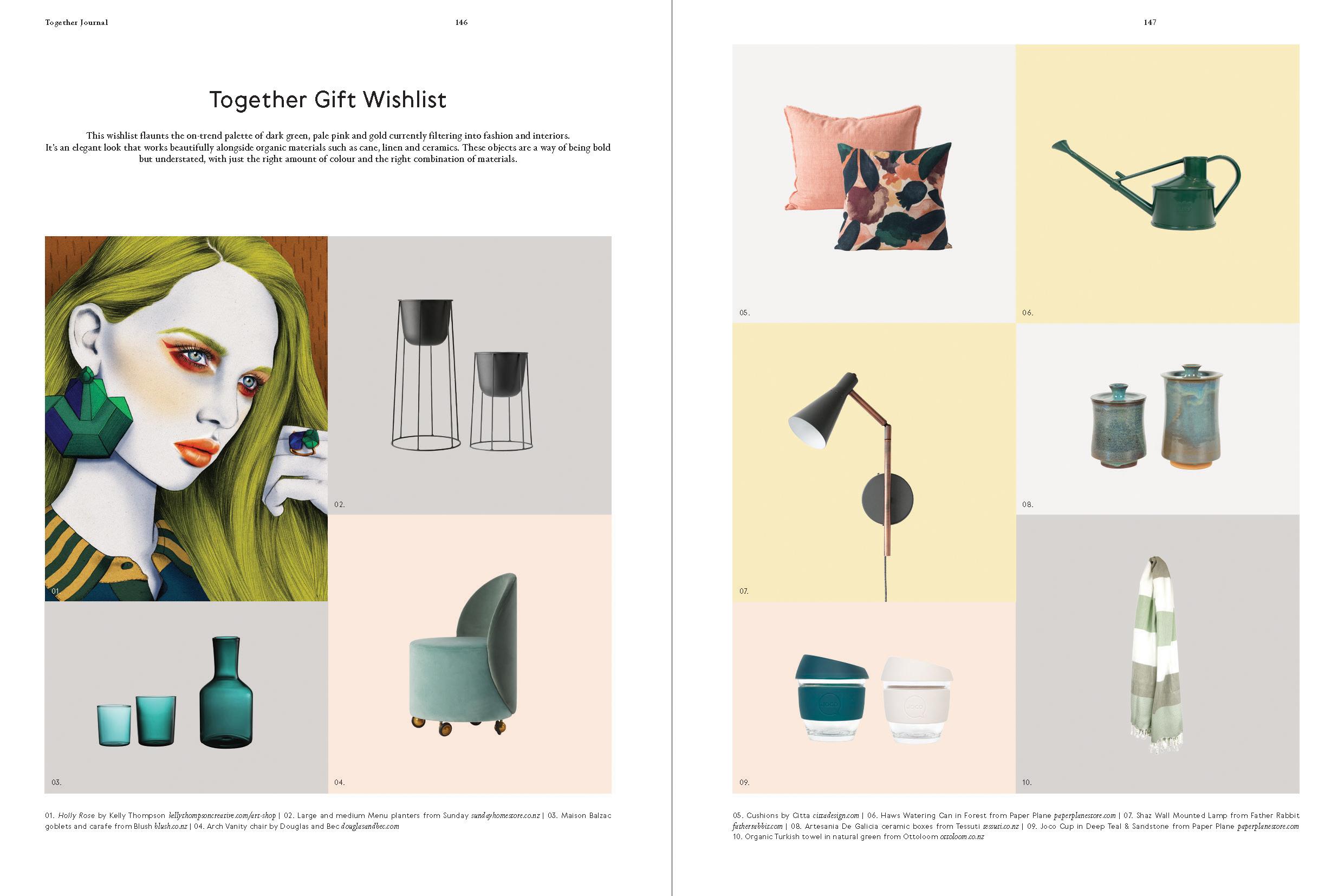 Categories: Inspiration-Together Gift Wishlist