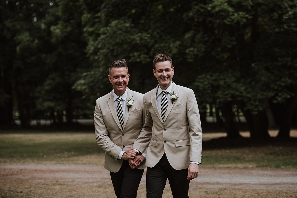 Categories: Weddings-Real Wedding: Aaron + Stephen - Photography by Carla Mitchell