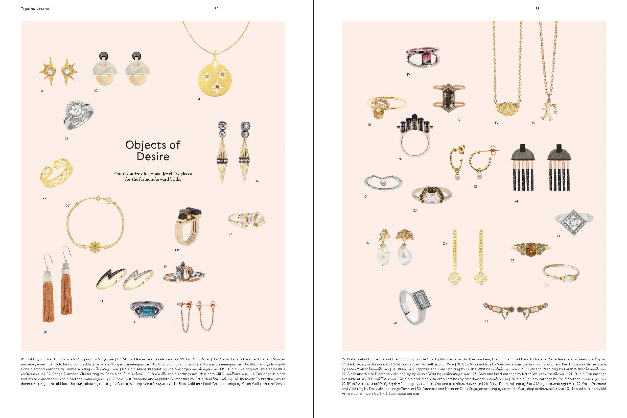 Categories: Fashion-Objects of Desire - Issue 10