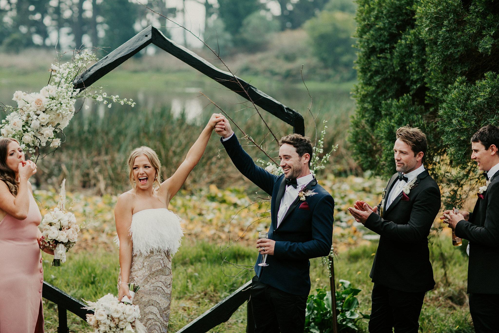Categories: Weddings-Real Wedding: Bonnie & Jesse - Photography by Daniel Brannan