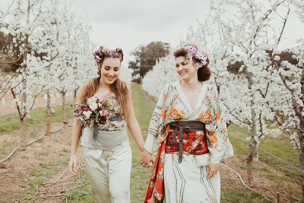 Categories: Flora + Styling, Inspiration-Styled shoot: Maiko Vs Manga - Photography by Nectarine