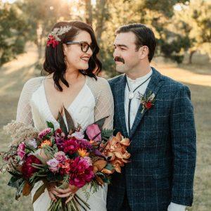 Real Wedding: Georgia + Adam