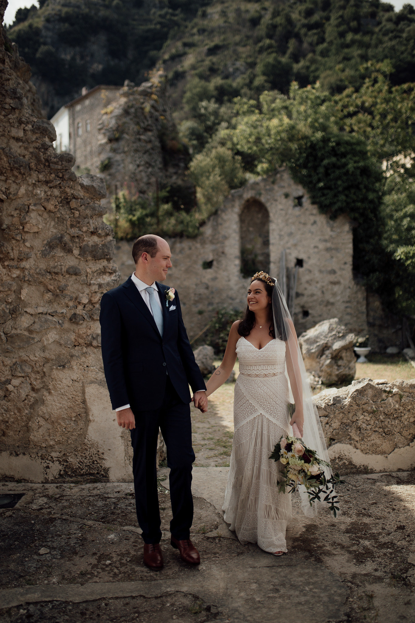 Categories: Weddings-Real Wedding: Rosalie & Patrick - Photography by Free the Bird