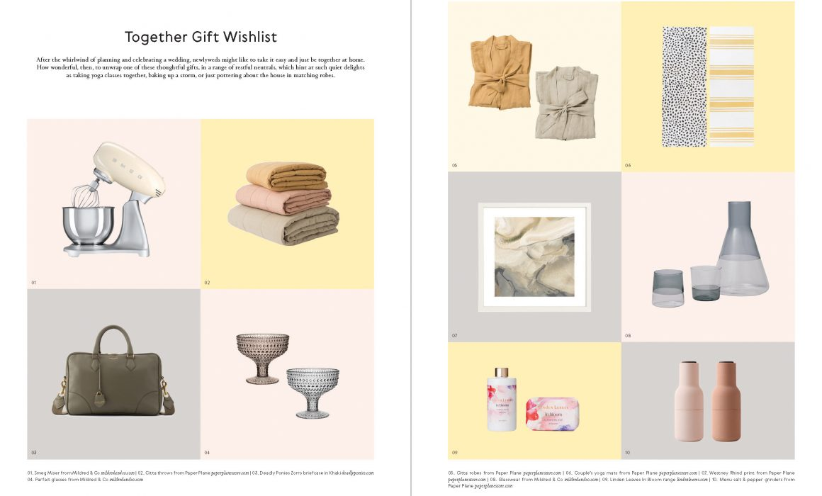 Categories: Inspiration-Gift Wishlist Issue 13