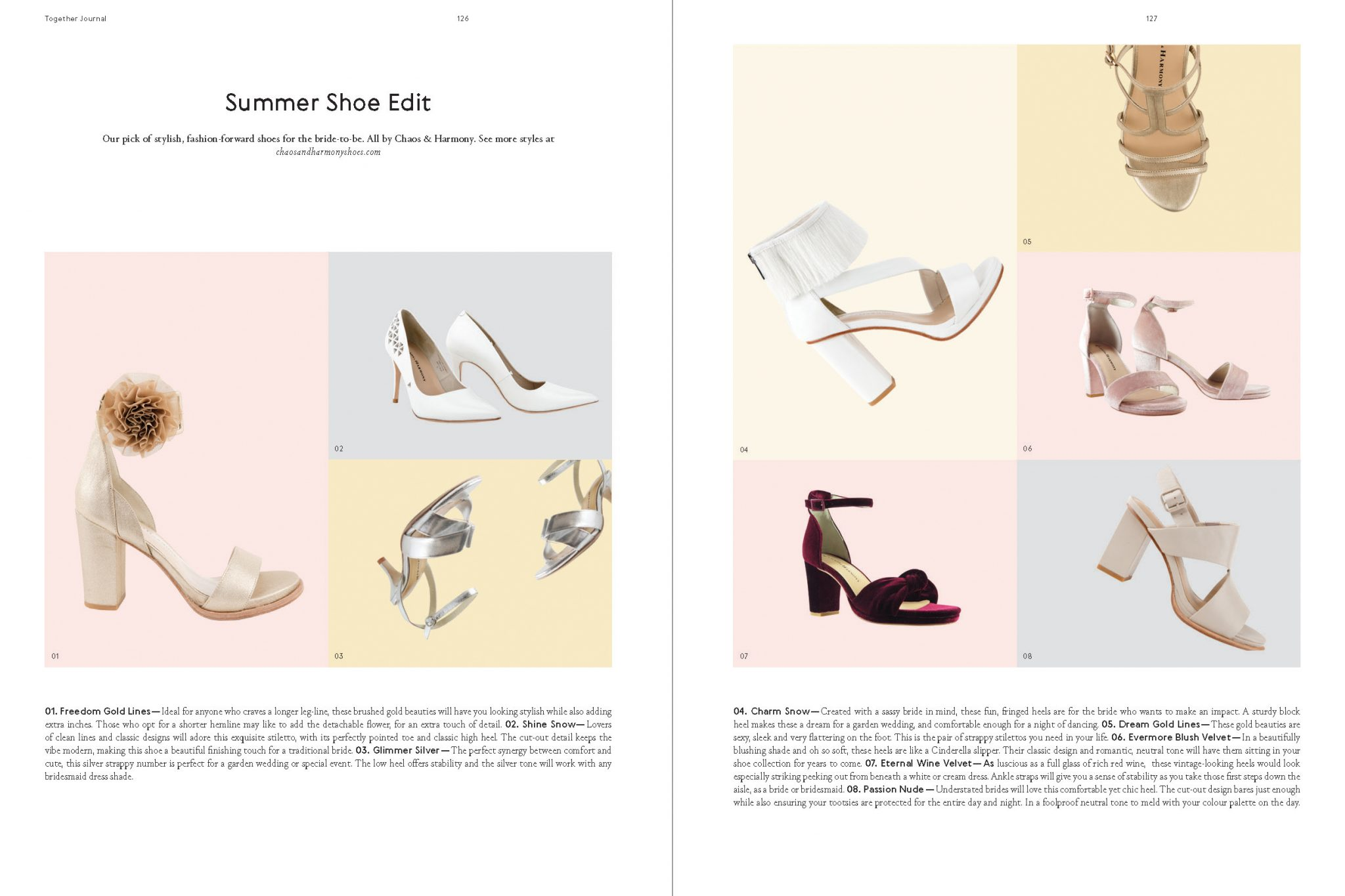 Categories: Fashion-Summer Shoe Edit by Chaos & Harmony