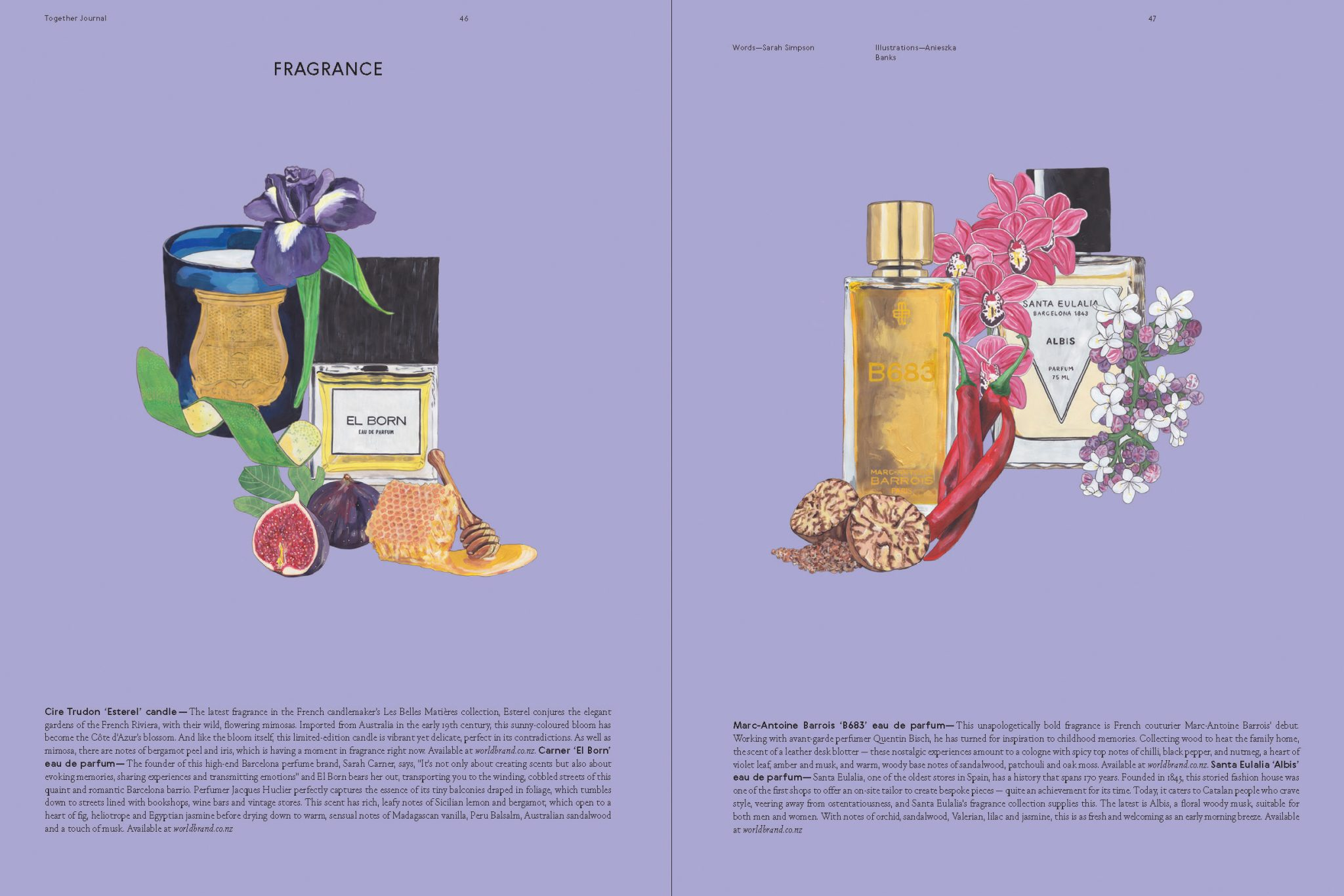 Categories: Beauty-Fragrance Issue 12