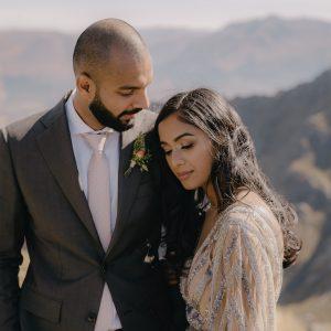 Monita & Aaron Queenstown Wedding Photography by Danelle Bohane