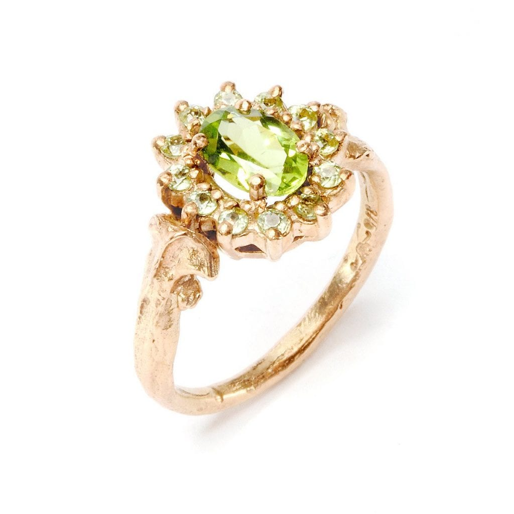 Julia DeVille Elizabeth ring