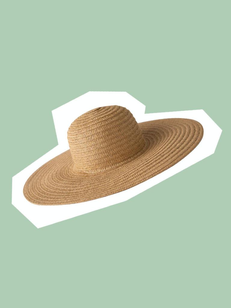 travel straw hat