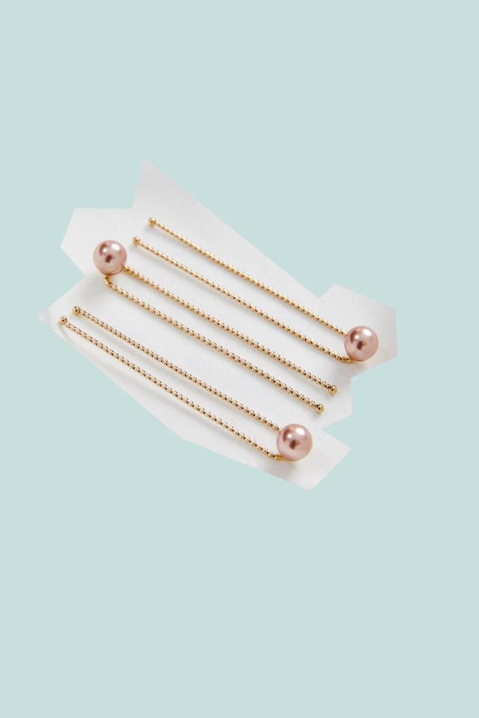 amelie George freshwater pearl hair pins