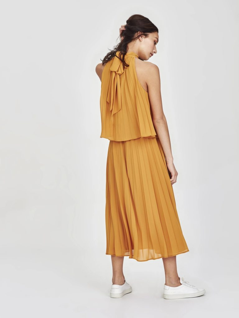 juliette-hogan-amaya-pleat-marigold-dress