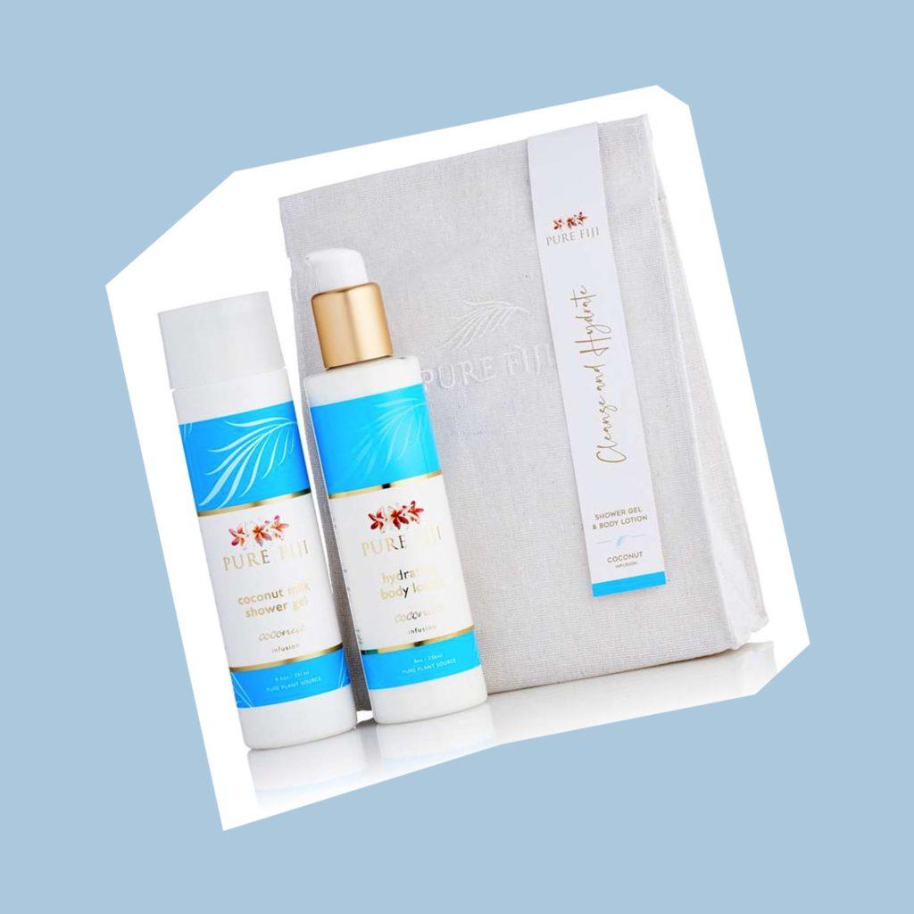 Pure Fiji shower gel set Mother's Day