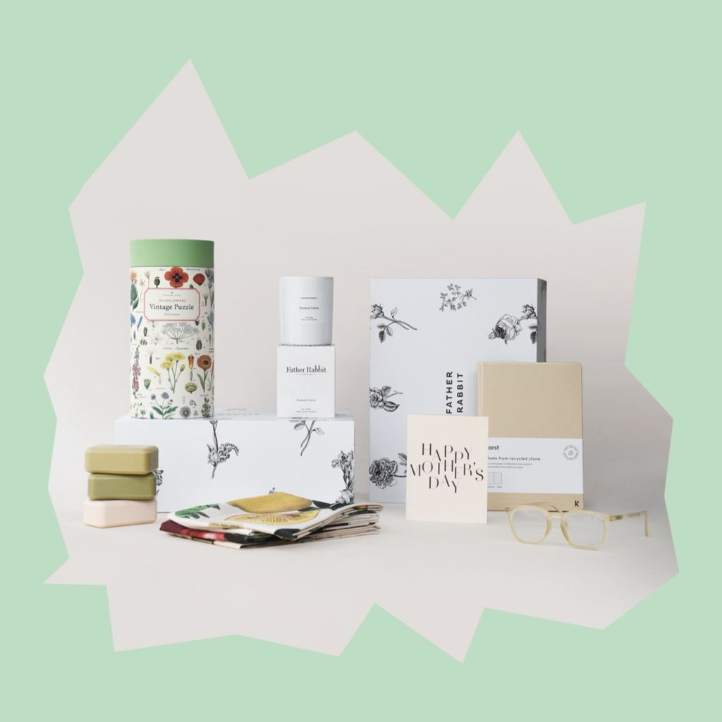Father Rabbit Mother's Day Gift Set