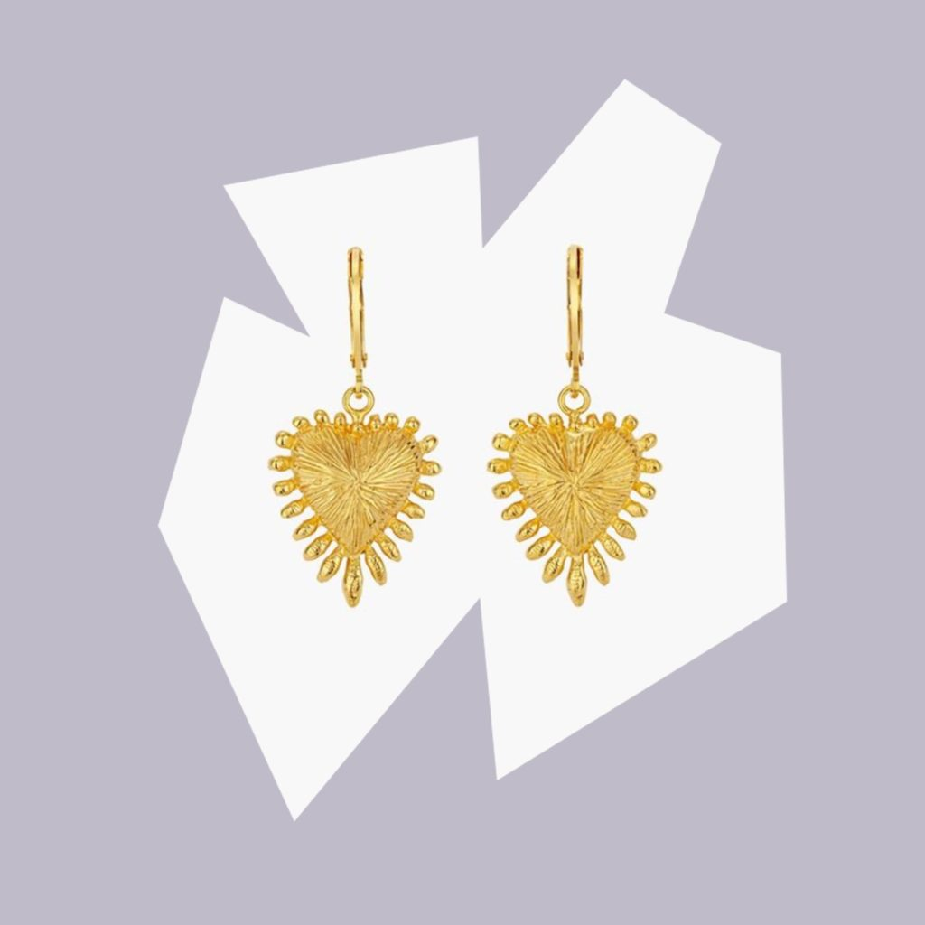 Sisters Zoe & Morgan Star Burst Earrings