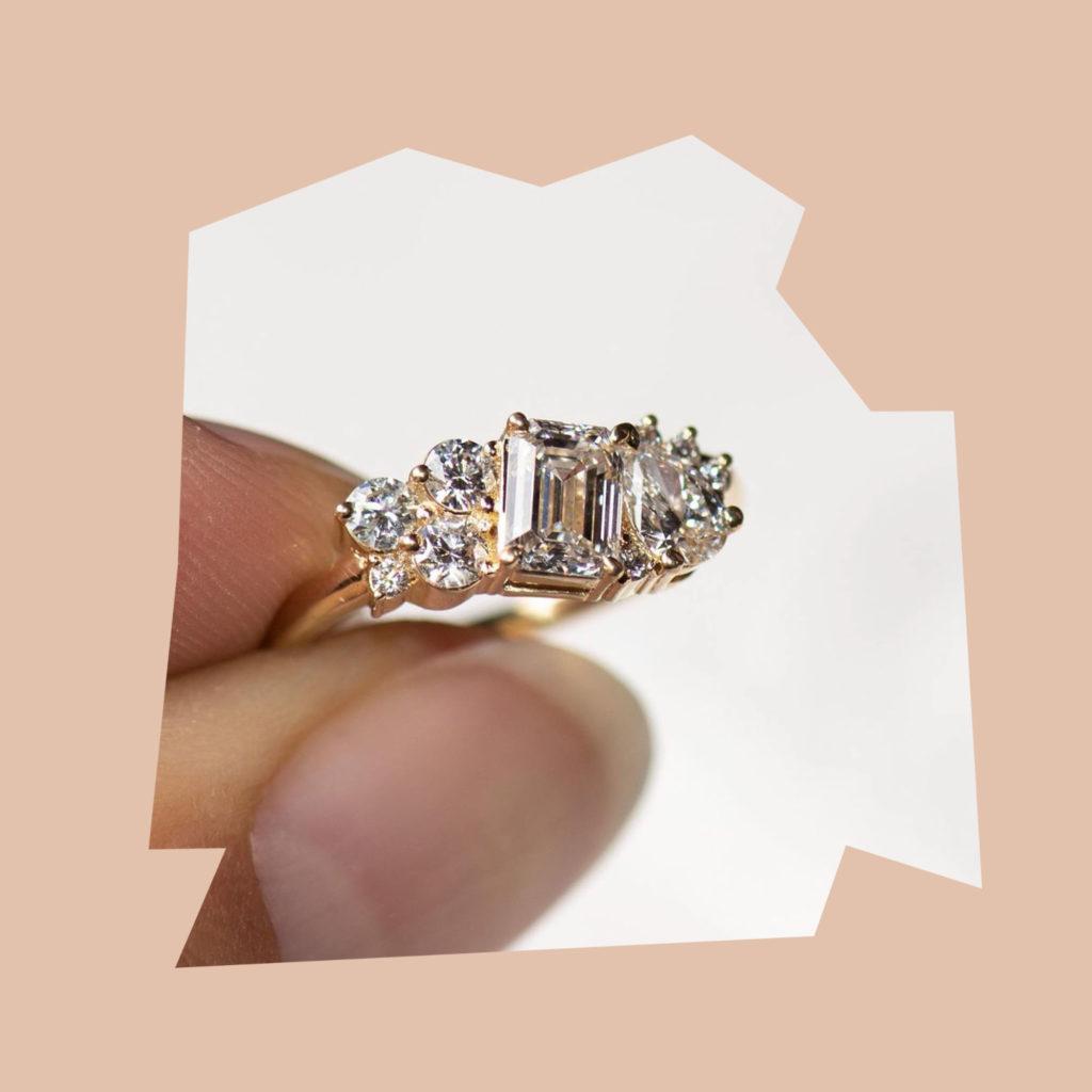 grew & co bespoke engagement ring