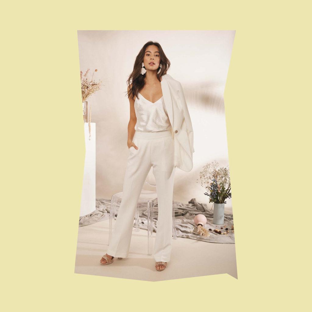 daisy brides ava bridal top trousers