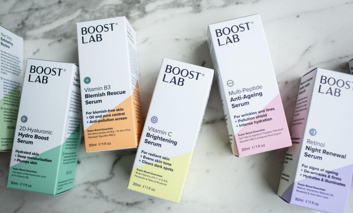 boost lab serums