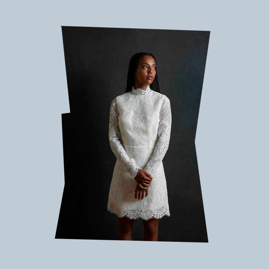 harriette gordon lace mini dress together journal