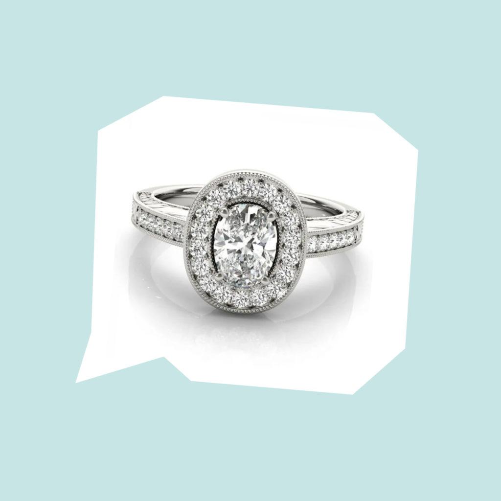 clean origin fifth avenue engagement ring