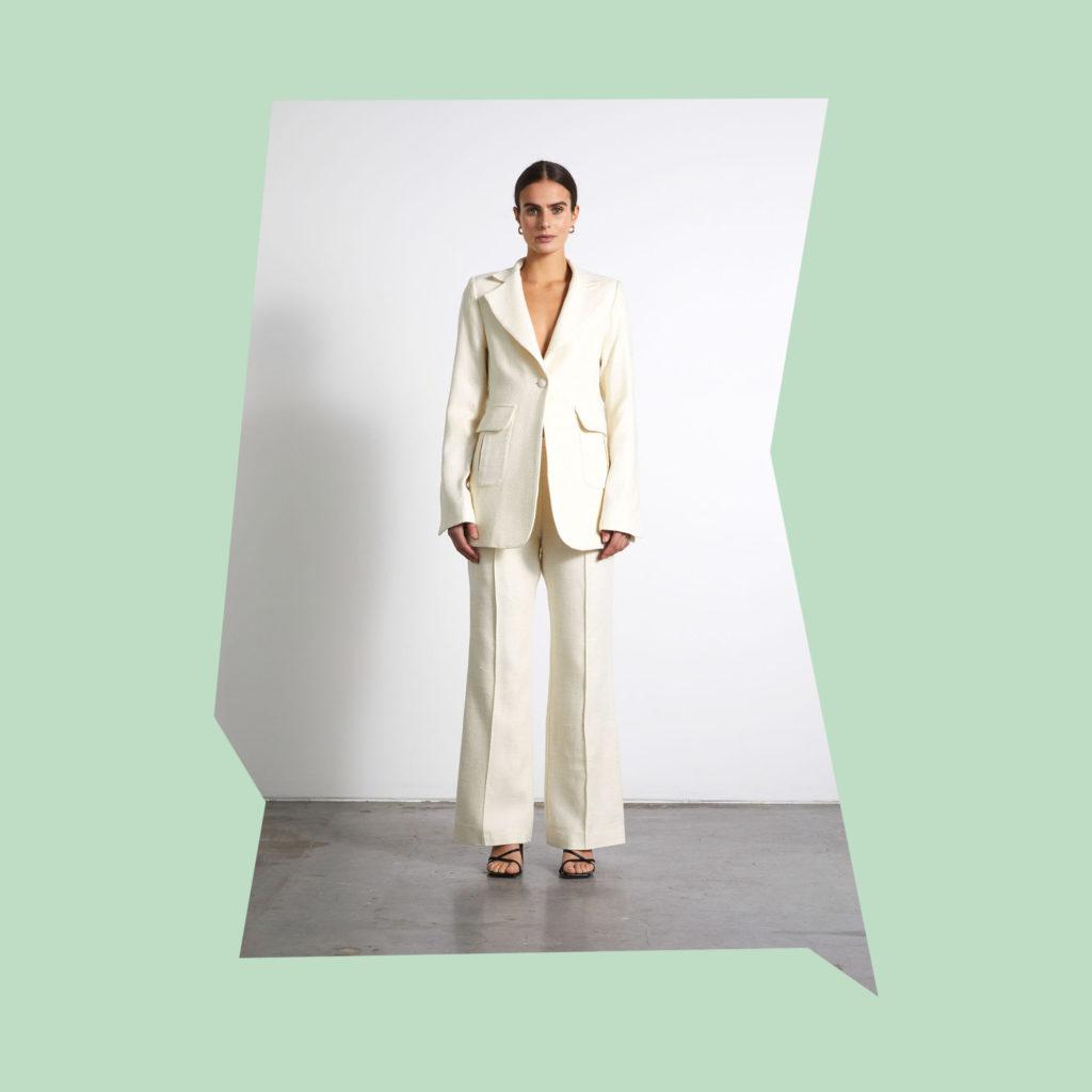 wynn hamlyn cream bridal suit