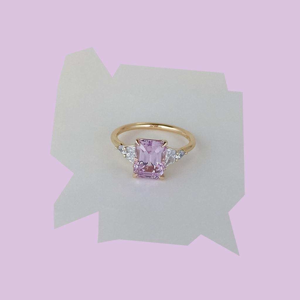 grew and co maxine pink ring
