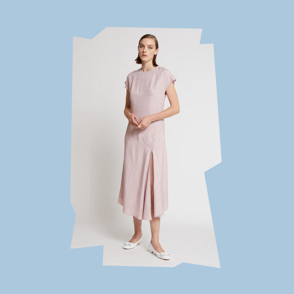 karen walker always pink dress