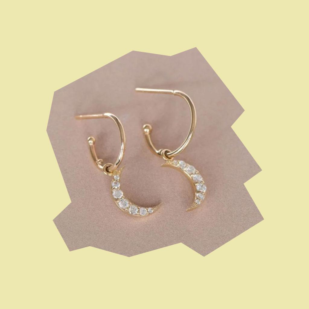 zoe and morgan moon diamond earrings