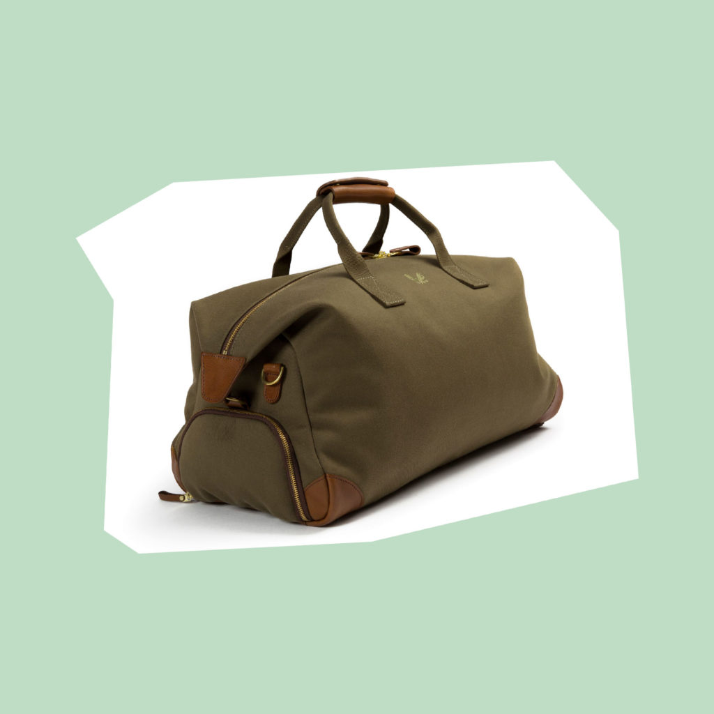 crane brothers olive holdall