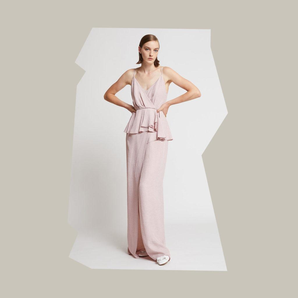 karen walker pink paradise dress