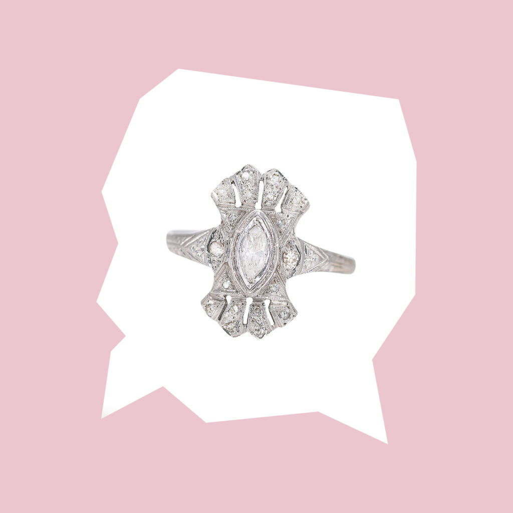 coco florence devika diamond ring