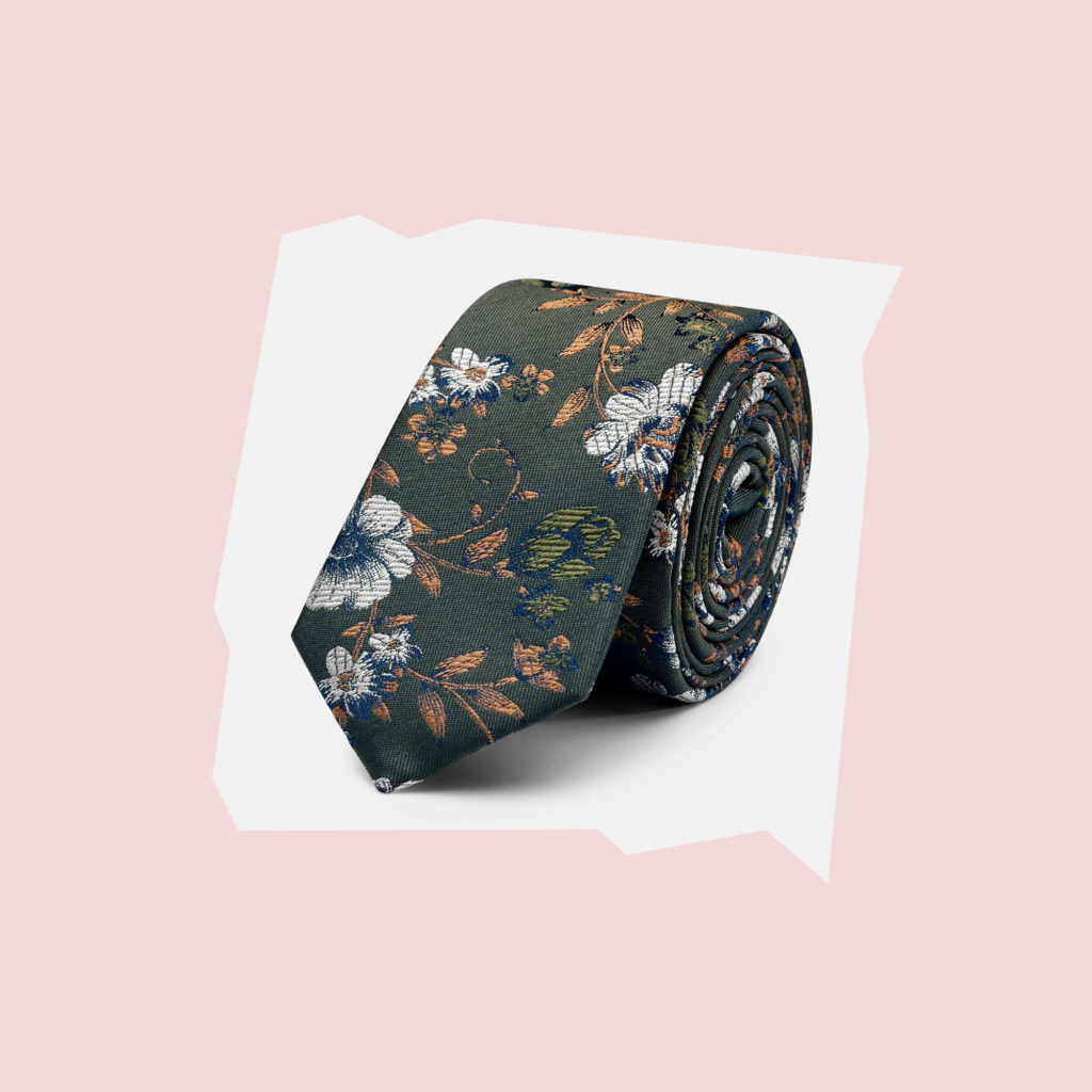 politix floral tie