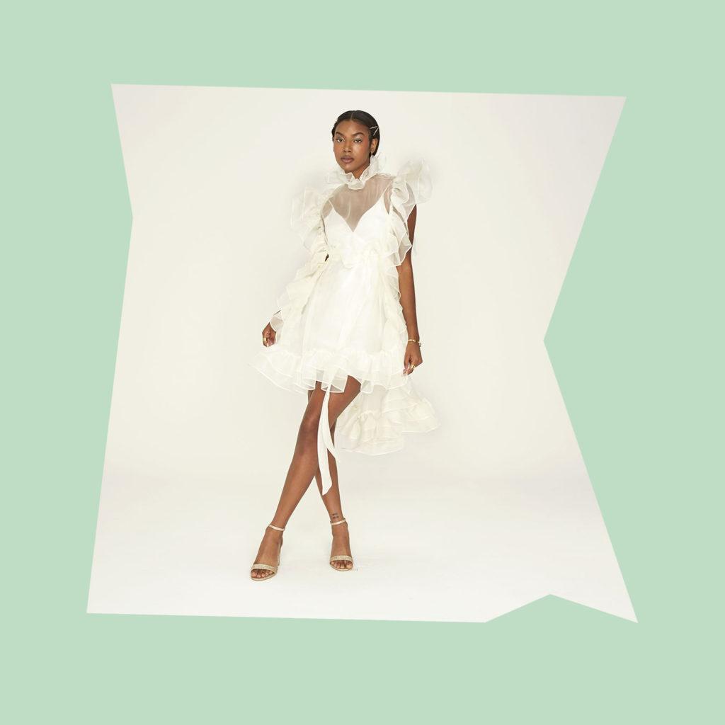 odlyne the ceremony mini celeste dress