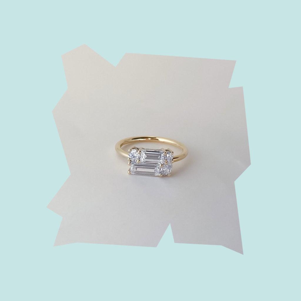 grew and co elke diamond ring
