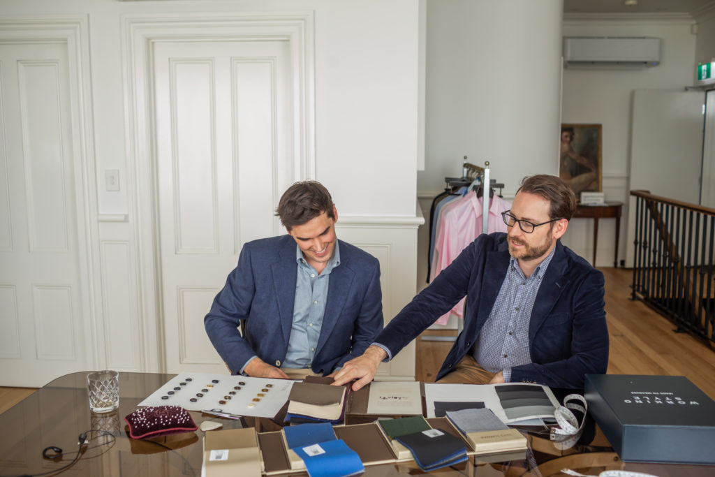 working style made to measure suit discount